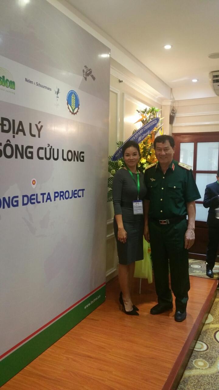 Trinh Tran - with Cosmanaut Pham Tuan